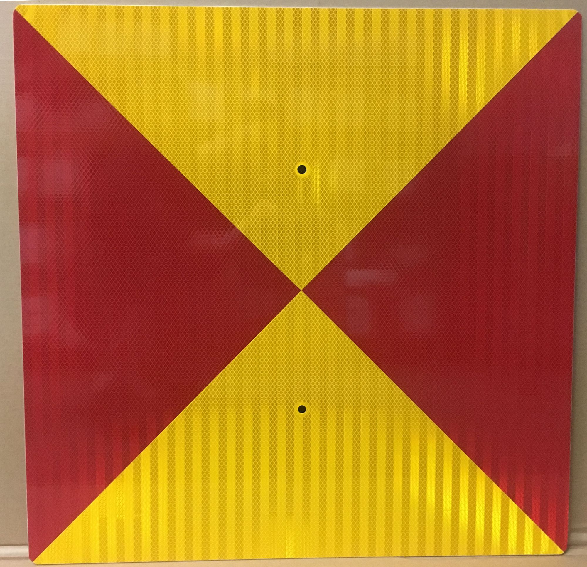 flags for temporary track conditions